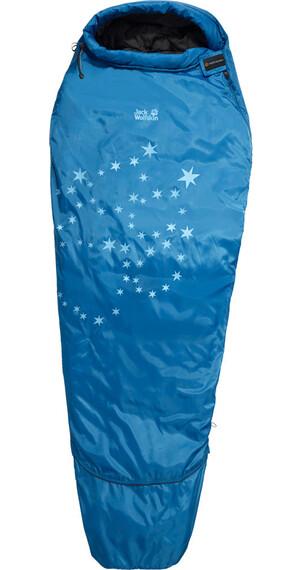 Jack Wolfskin Grow Up Star Sleeping Bag Kids electric blue